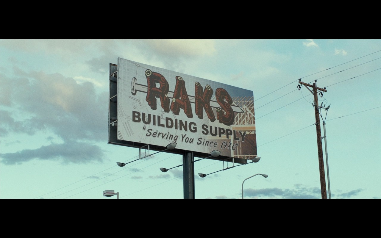 RAKS Building Supply – Shot Caller (2017) Movie Product Placement