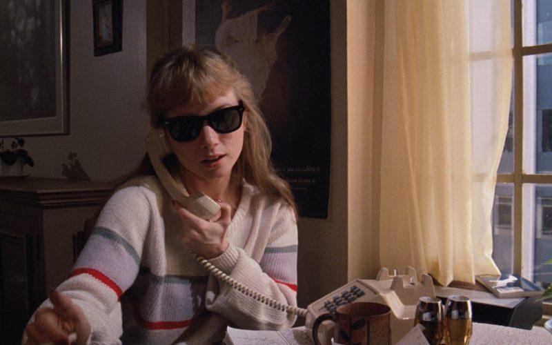 Rebecca De Mornay and Ray-Ban Wayfarer Sunglasses – Risky Business (1983)