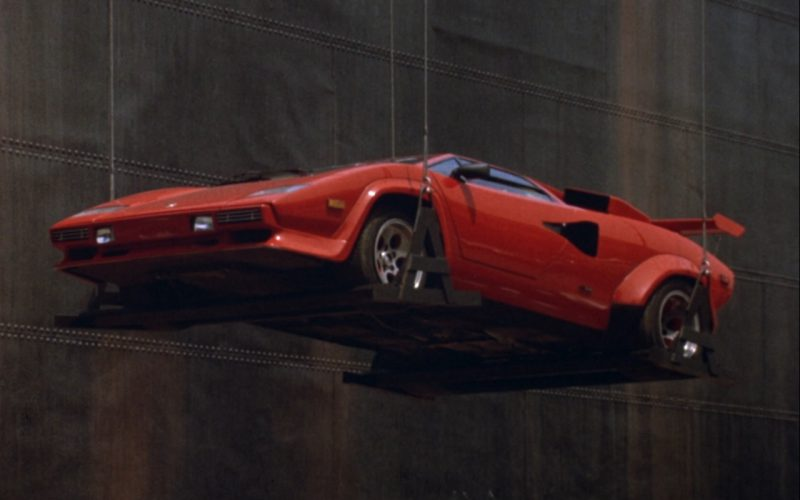 Red Lamborghini Countach – Rain Man (2)