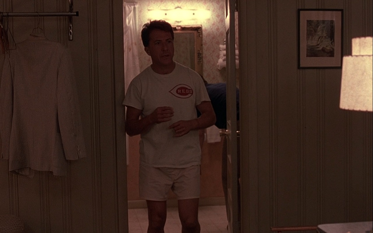 Reds T-Shirt – Rain Man (1988) Movie Product Placement