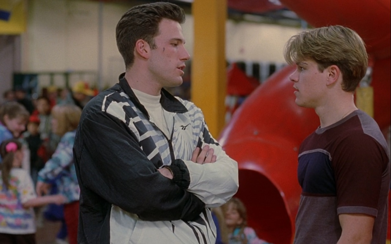 Reebok Jacket – Good Will Hunting (1997) - Movie Product Placement