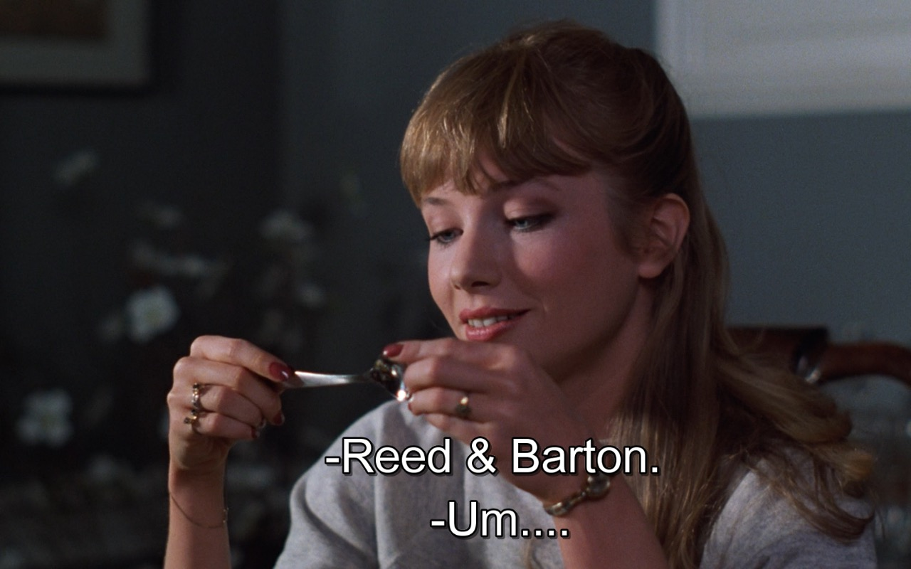 Reed & Barton – Risky Business (1983) Movie Product Placement