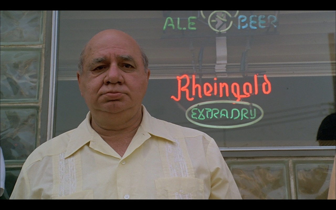 Rheingold Beer Neon Sign – A Bronx Tale (1993) Movie Product Placement
