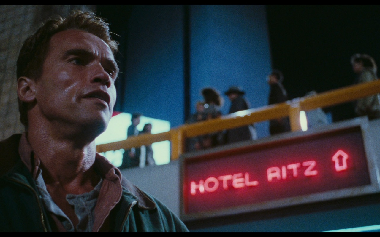 Ritz Hotel – Total Recall (1990) Movie Product Placement