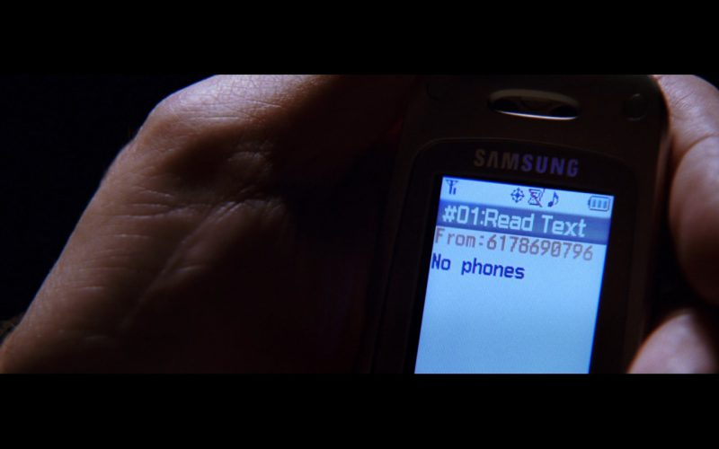 Samsung Mobile Phone – The Departed (1)