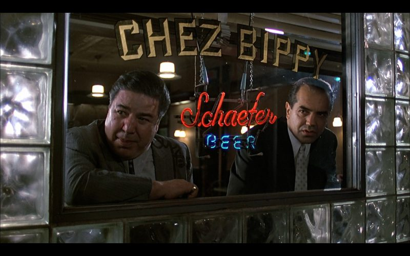 Schaefer Beer Neon Sign – A Bronx Tale (1)