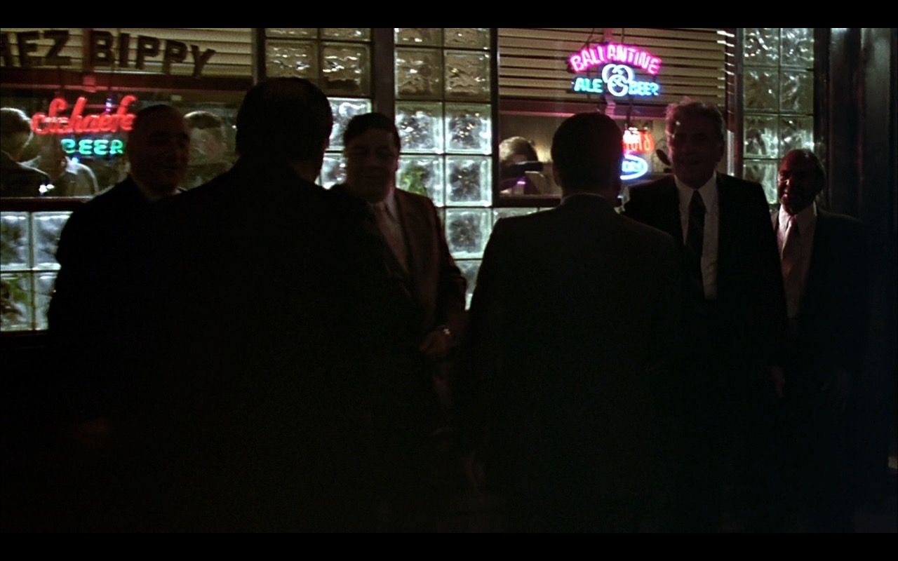 Schaefer and Ballantine Beer Neon Signs – A Bronx Tale (1993) Movie Product Placement