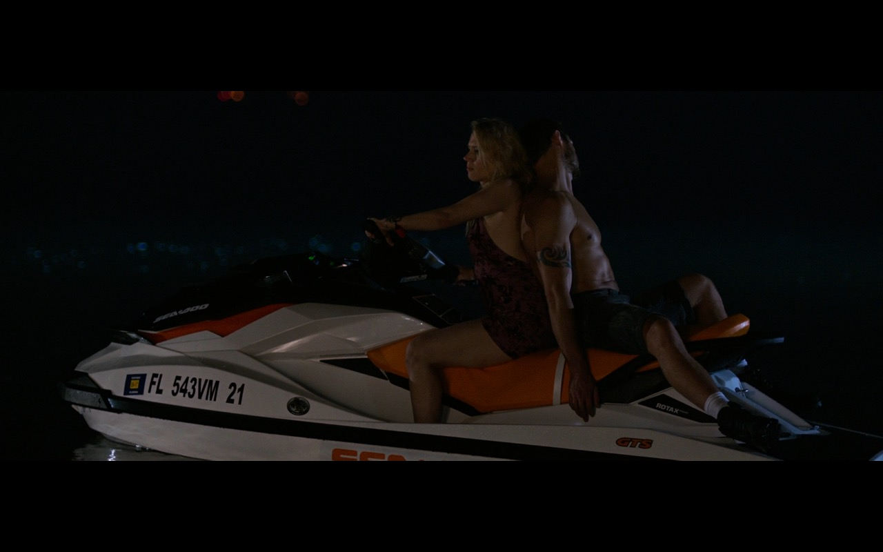 Sea-Doo GTS Personal Watercraft – Rough Night (2017) Movie Product Placement
