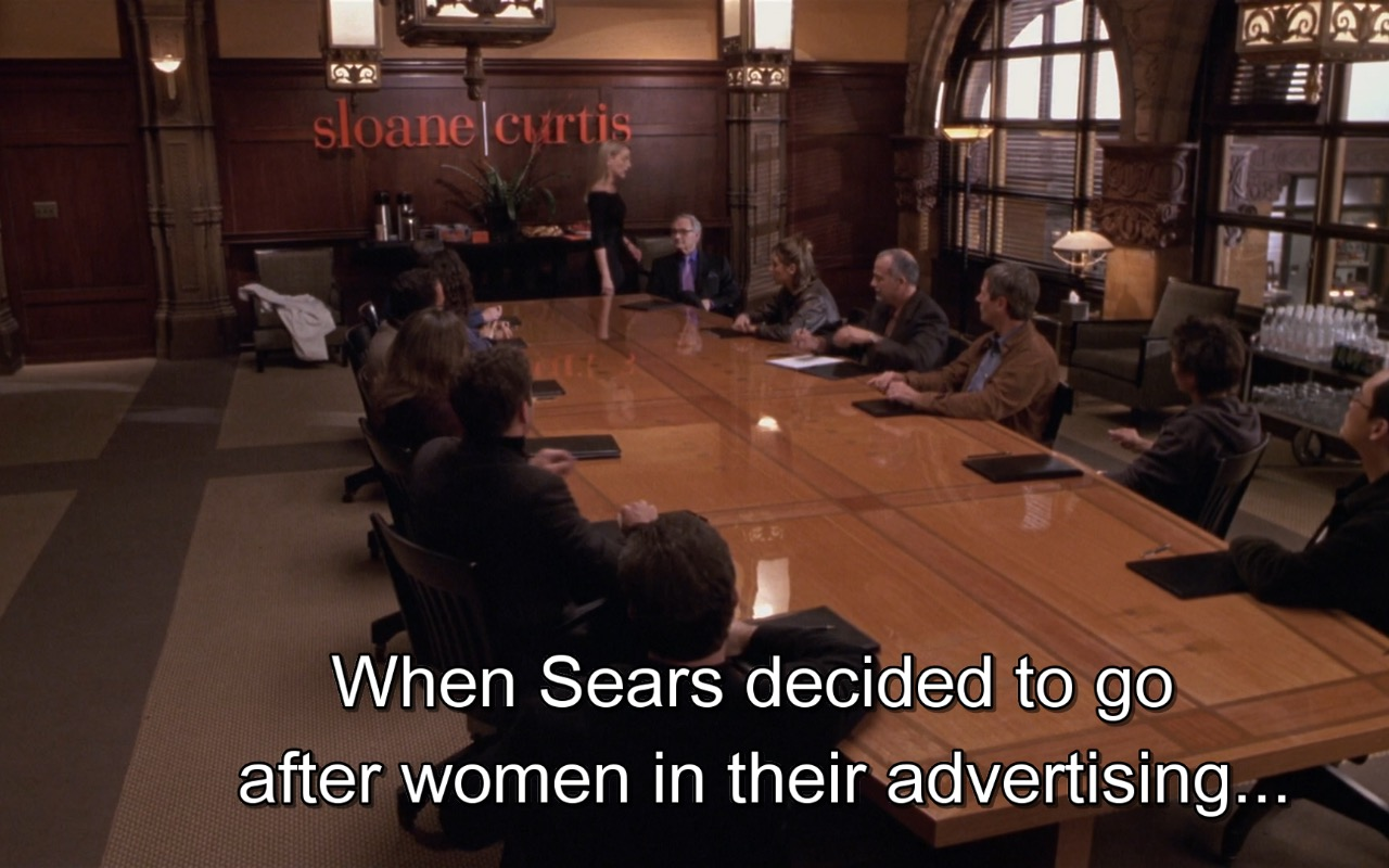 Sears – What Women Want (2000) Movie Product Placement