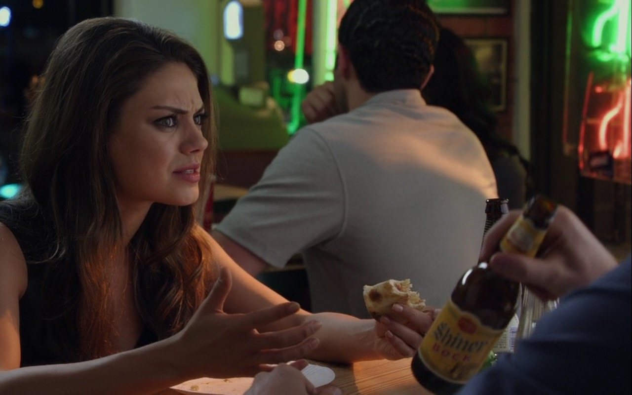 Shiner Beer – Friends with Benefits (2011) Movie Product Placement