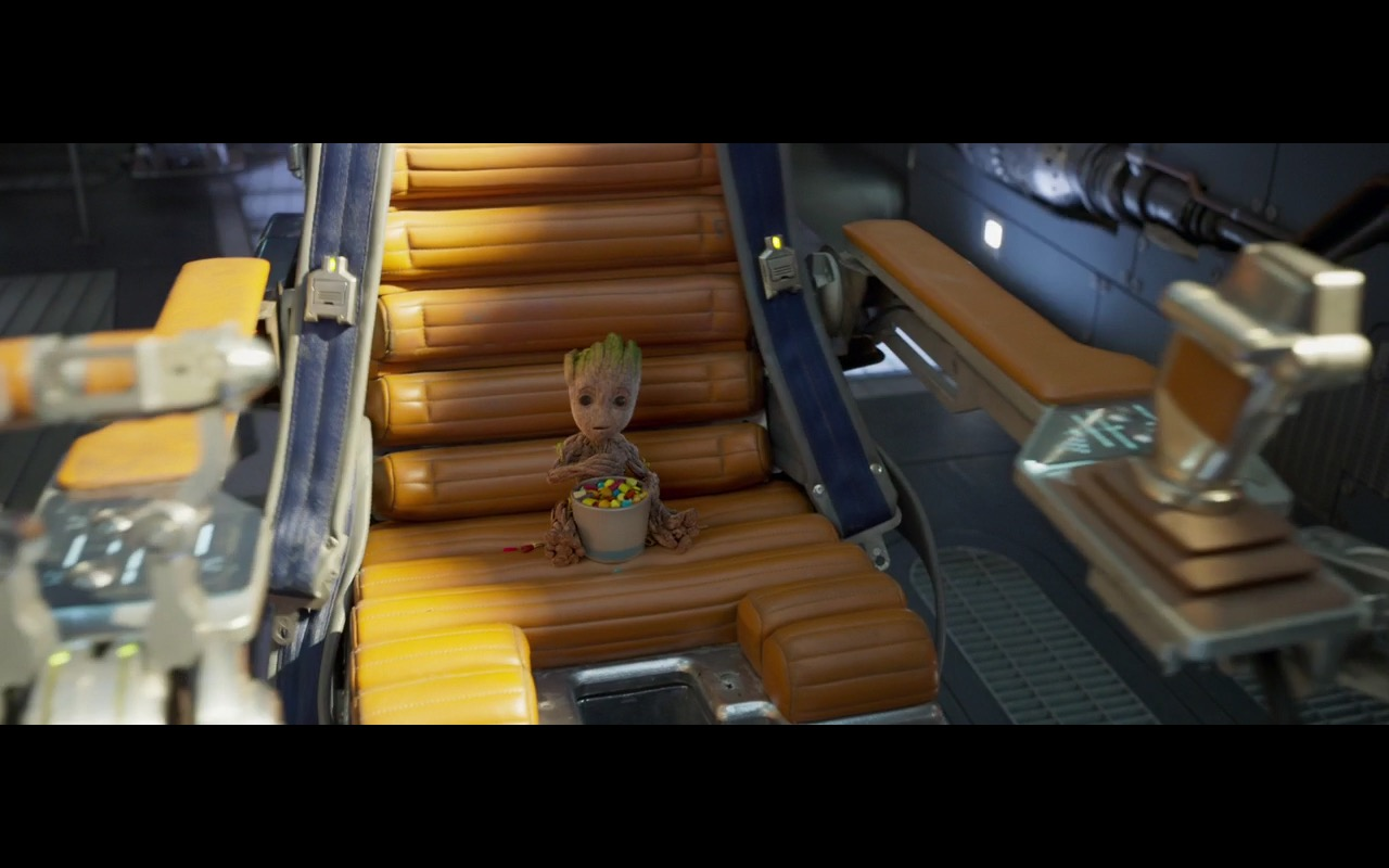 Baby Groot and M&Ms Candies - Guardians of the Galaxy Vol. 2 (2017) Movie Product Placement