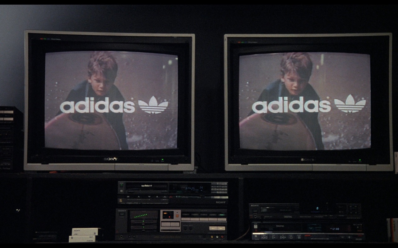 Sony TV and Adidas Advertising – Nothing in Common (1986) Movie Product Placement