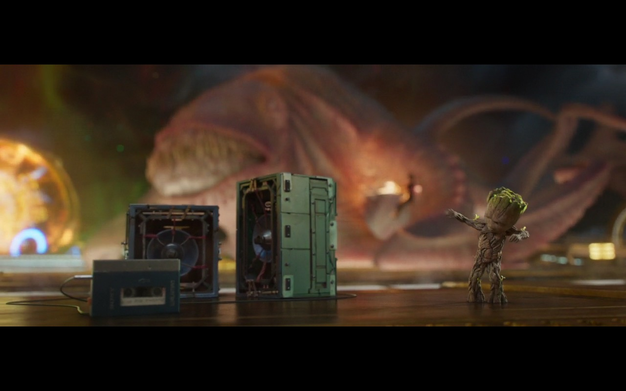 Sony Walkman Player - Guardians of the Galaxy Vol. 2 (2017) Movie Product Placement