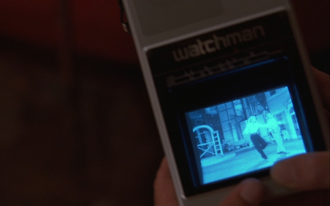Sony Watchman TV – Rain Man (1988) Movie Product Placement