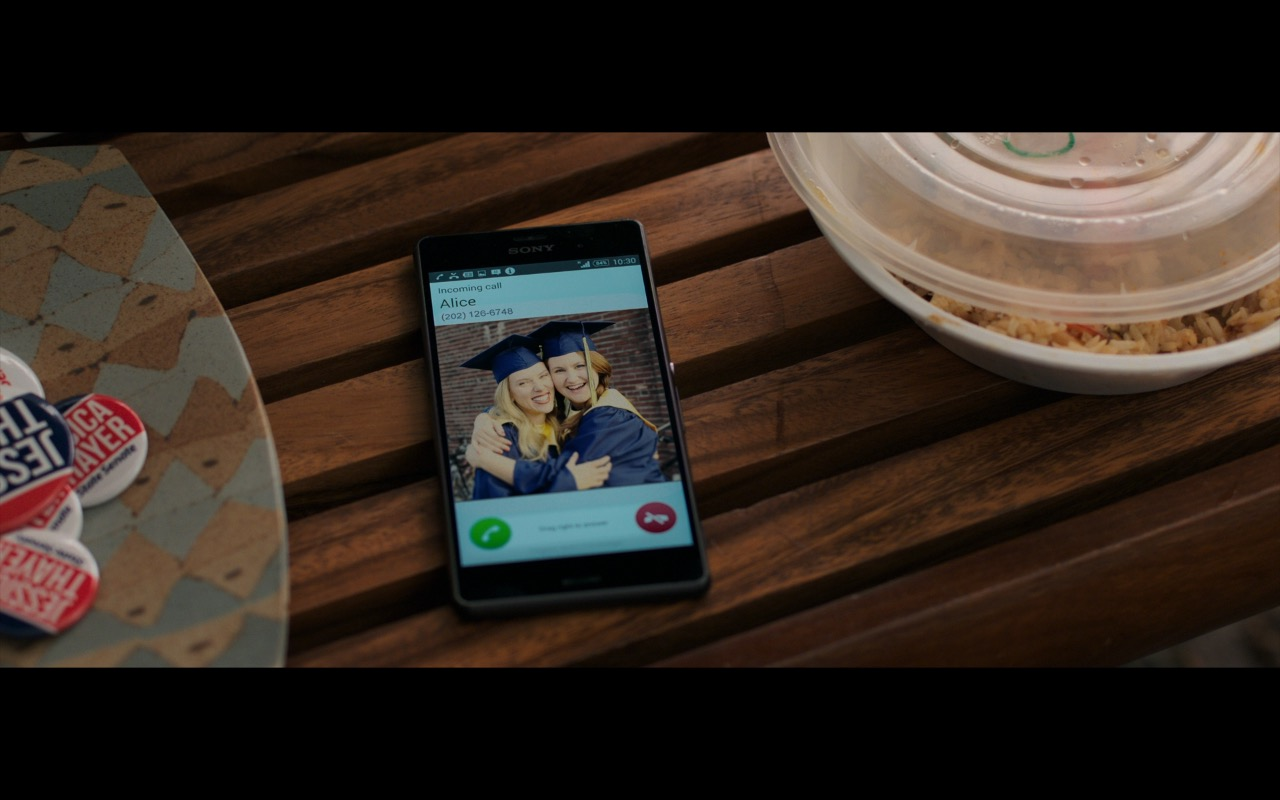Sony Xperia Android Smartphones - Rough Night (2017) Movie Product Placement