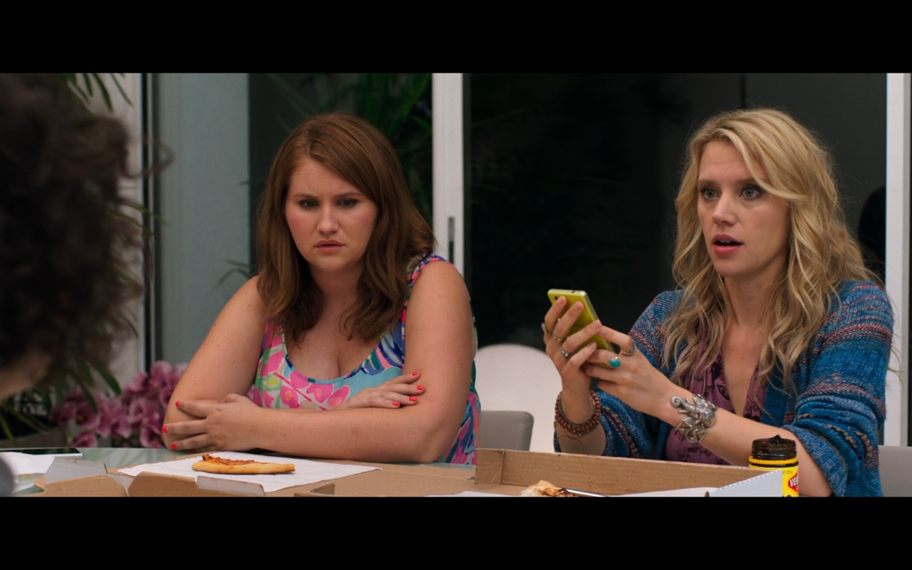 Sony Xperia Phone Used by Kate McKinnon in Rough Night (2017) Movie Product Placement