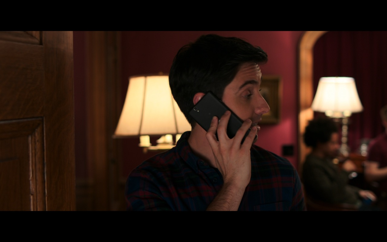 Sony Xperia Phone Used by Paul W. Downs in Rough Night (2017) Movie Product Placement