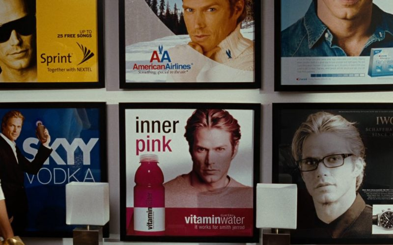 Sprint, American Airlines, Crest, Skyy, Glacéau Vitamin Water, IWC – Sex and the City (2008)