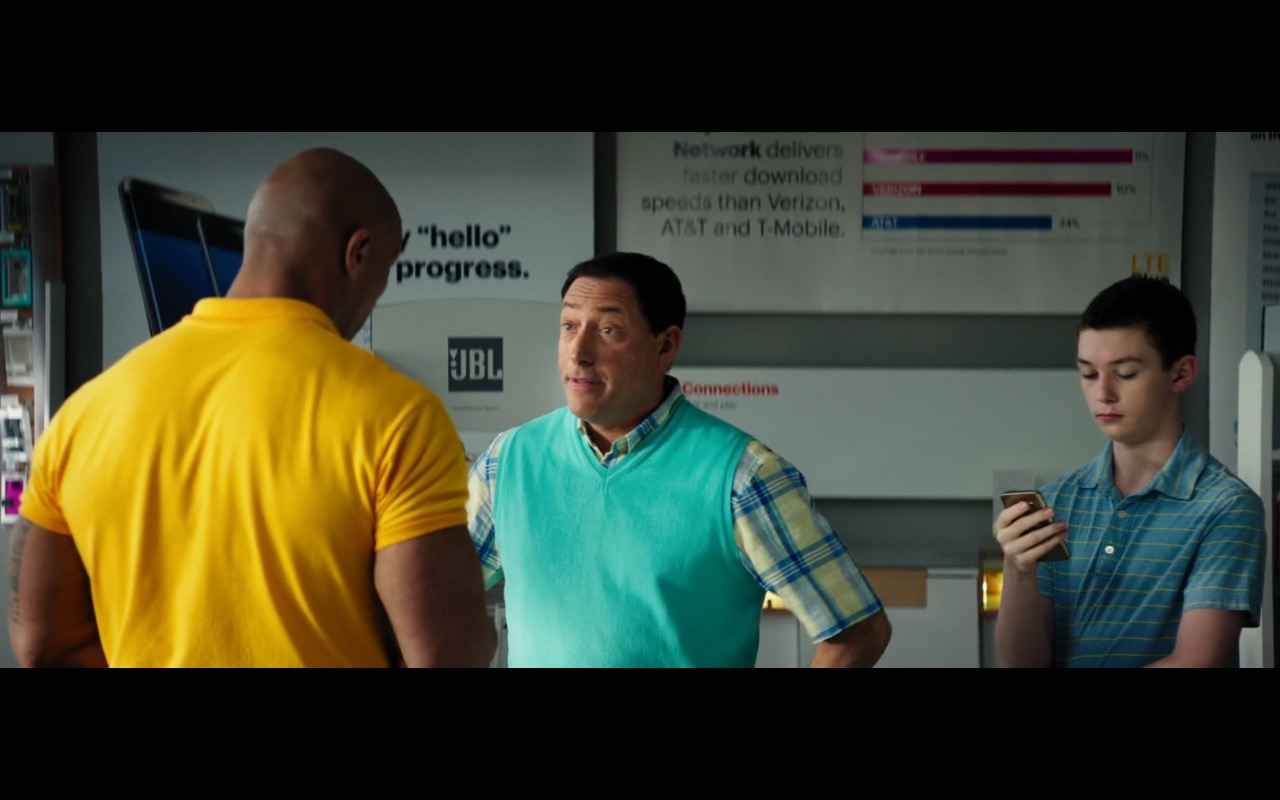 Sprint, JBL, Samsung – Baywatch (2017) Movie Product Placement