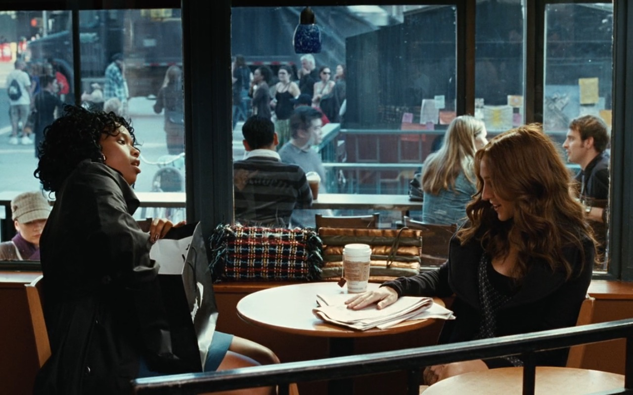 Starbucks, Chanel Bag and Sprint Paper Bag – Sex and the City (2008) Movie Product Placement