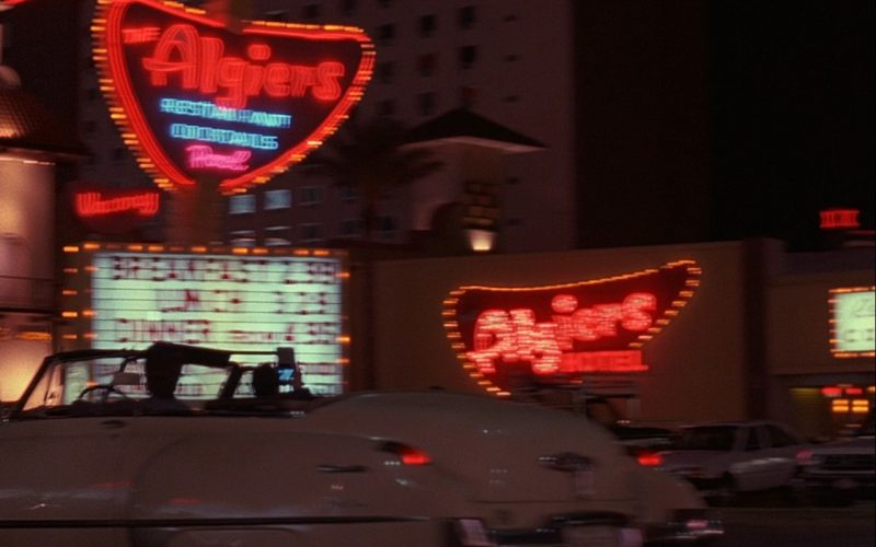 The Algiers Hotel & Casino Neon Sign – Rain Man (1)