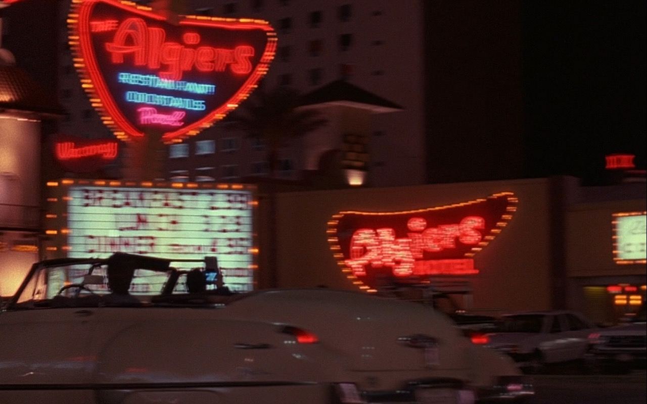 The Algiers Hotel Neon Sign – Rain Man (1988) Movie Product Placement
