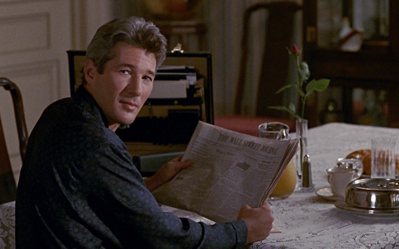 The Wall Street Journal Newspaper – Pretty Woman (1990) Movie Product Placement