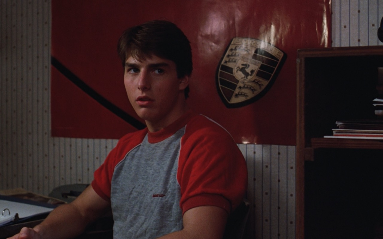 Tom Cruise and Porsche Poster – Risky Business (1983) Movie Product Placement