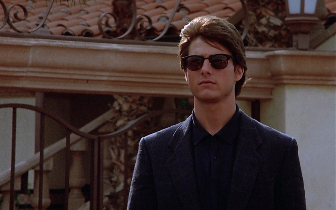 Tom Cruise and Ray-Ban Sunglasses – Rain Man (1988) Movie Product Placement