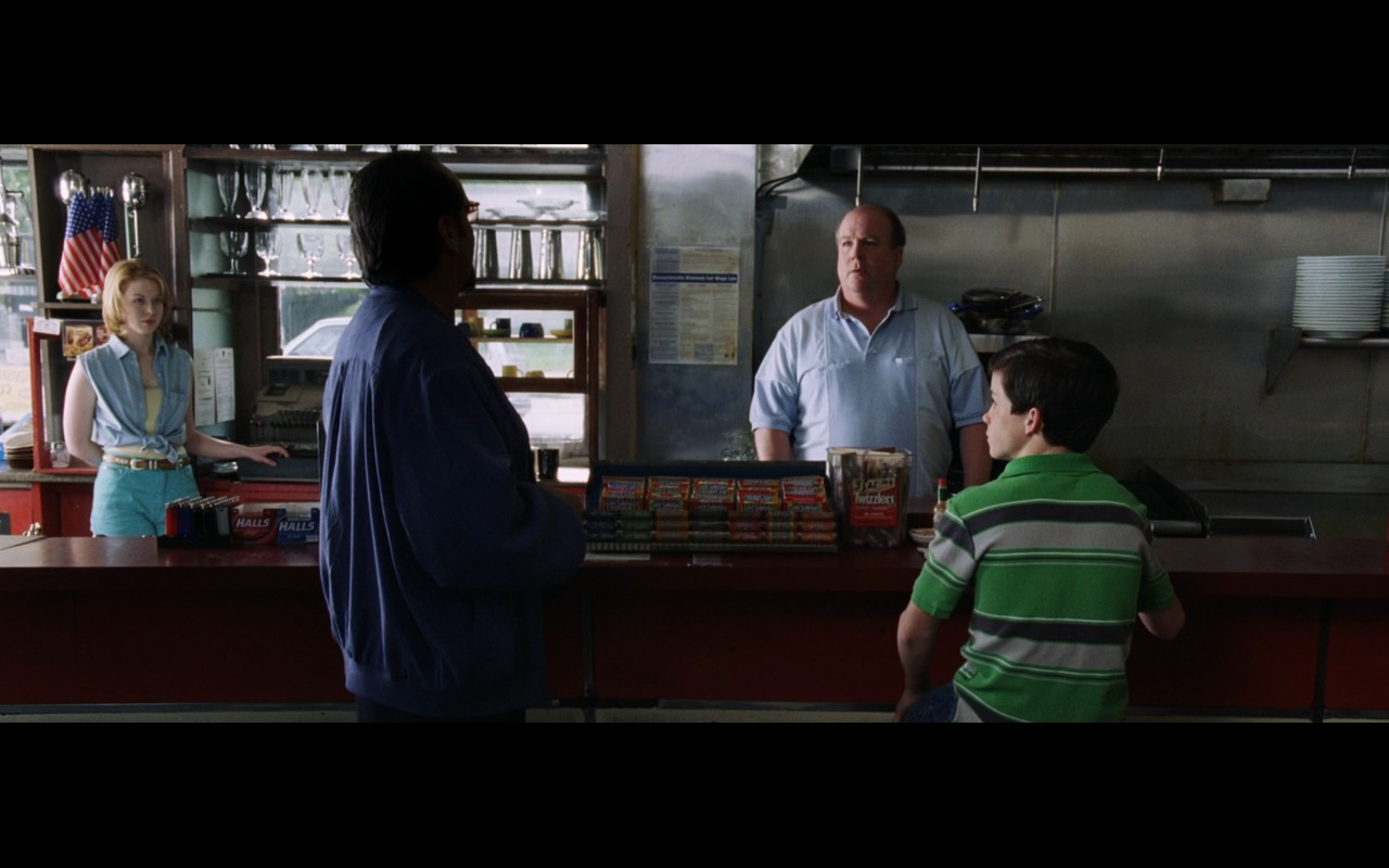 Twizzlers Candies and Halls - The Departed (2006) Movie Product Placement