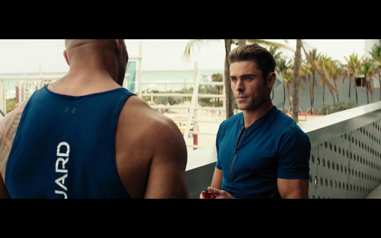 Under Armour Clothing - Baywatch (2017) Movie Product Placement