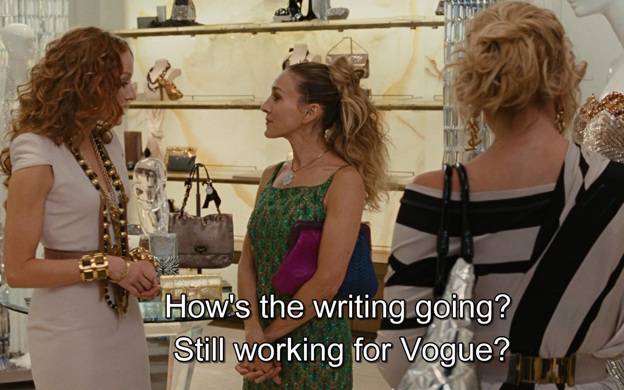 VOGUE – Sex and the City 2 (2010) Movie Product Placement