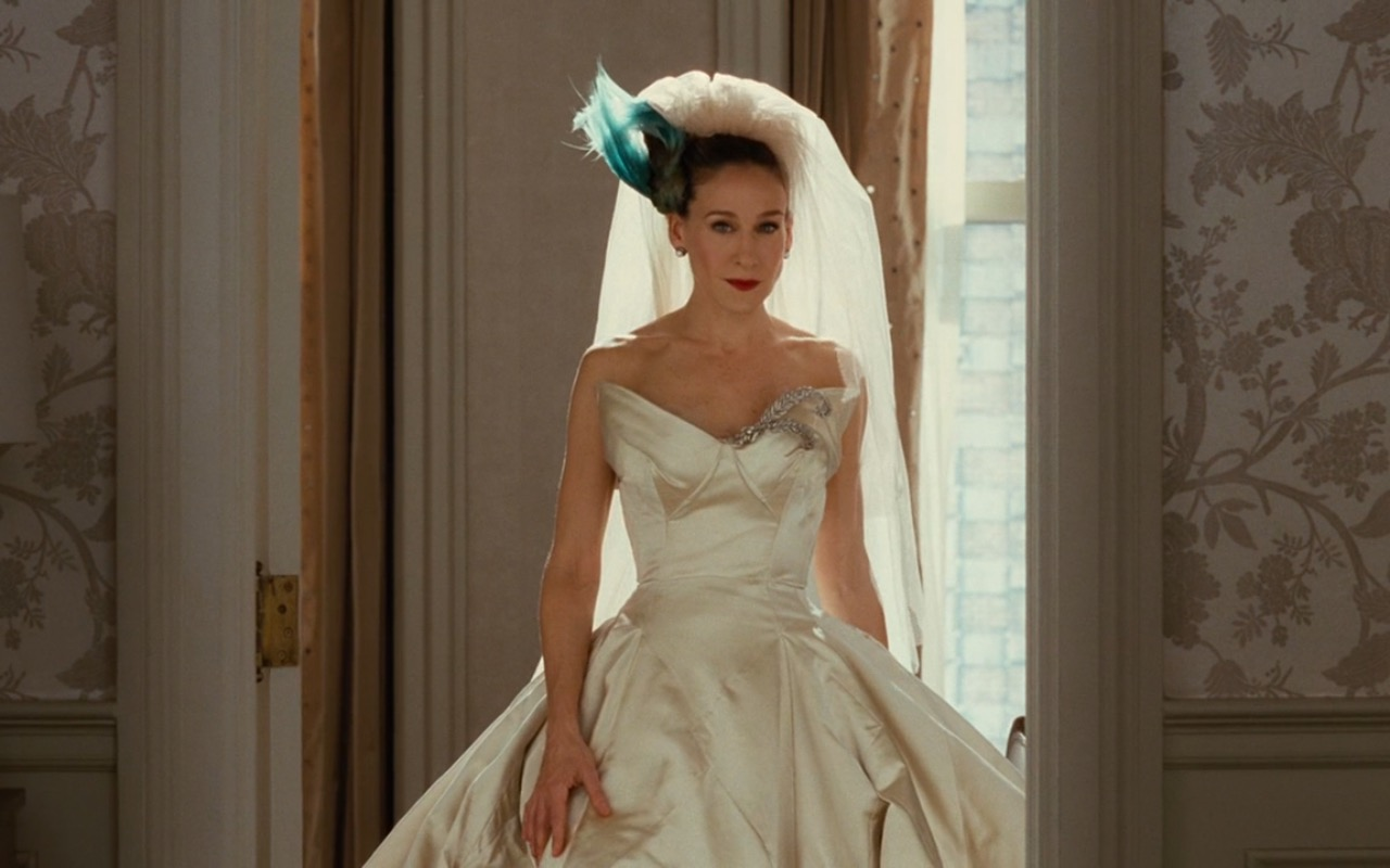 Vivienne Westwood Bridal Dress – Sex and the City (2008) Movie Product Placement