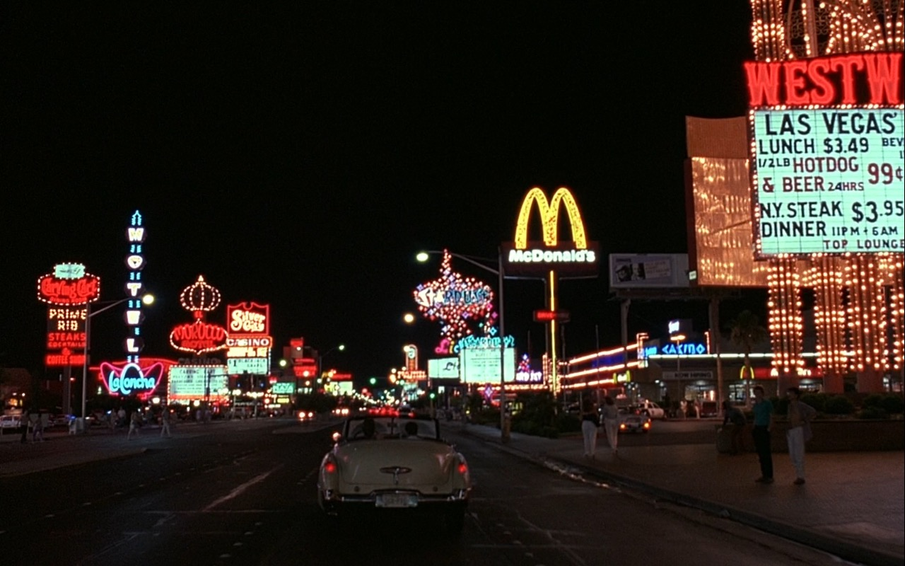 Westward Ho Hotel and Casino and McDonald's – Rain Man (1988) Movie Product Placement
