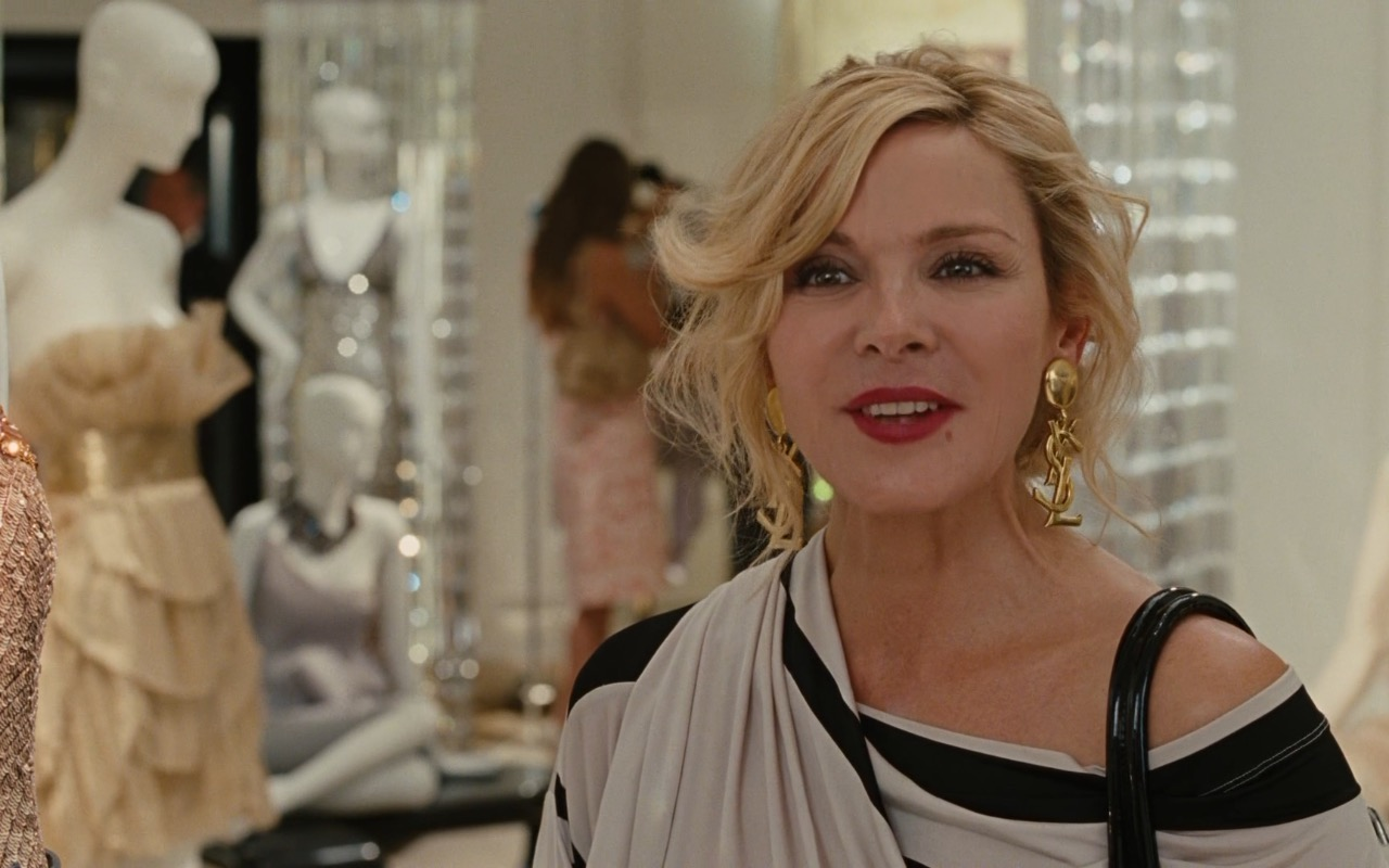 YSL Earrings – Sex and the City 2 (2010) Movie Scenes