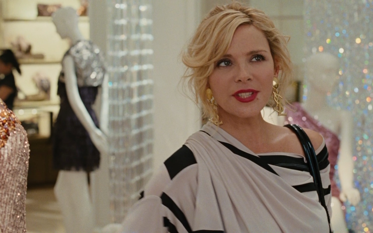YSL Earrings – Sex and the City 2 (2010) Movie Product Placement
