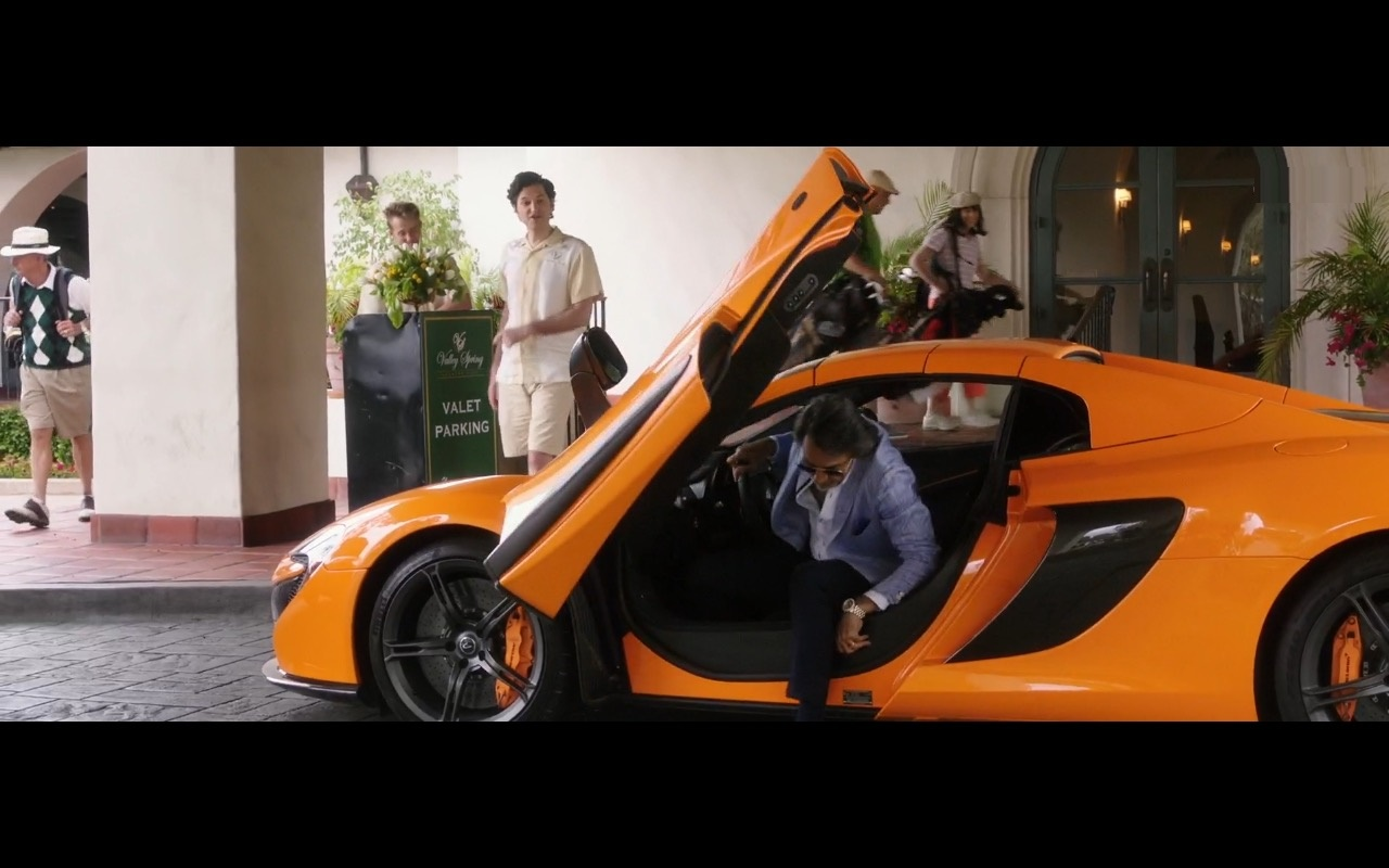 Yellow McLaren Car - How to Be a Latin Lover (2017) - Movie Product Placement
