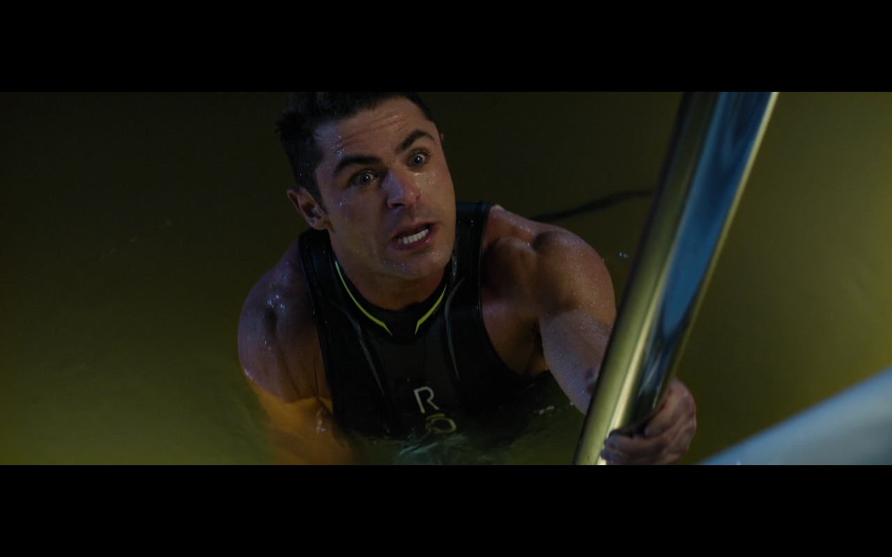 ROKA Men's Maverick Elite II Sleeveless Wetsuit worn by Zac Efron in Baywatch (2017) Movie Product Placement