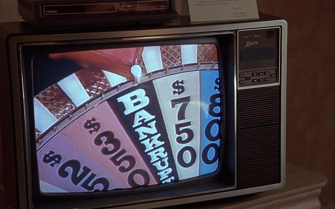 Zenith TV – Rain Man (1988) Movie Product Placement