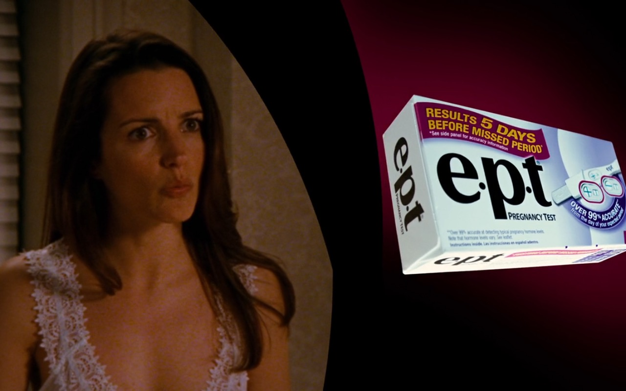 e.p.t Pregnancy Test – Sex and the City (2008) Movie Product Placement