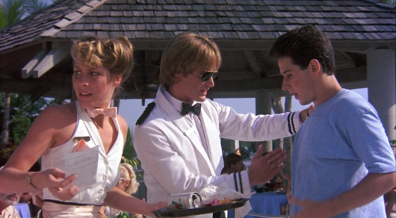 7Up - Private Resort (1985) Movie Product Placement