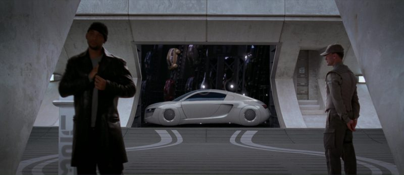 Audi RSQ Car Driven by Will Smith in I, Robot (2004) - Movie Product Placement