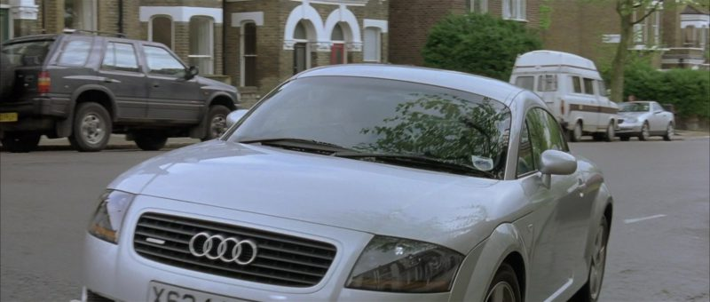Audi TT Car driven by Hugh Grant in About a Boy (2002) - Movie Product Placement