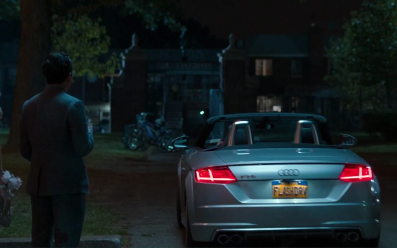 Audi TTS Roadster Driven by Tom Holland in Spider-Man Homecoming (1)