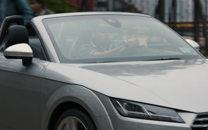 Audi TTS Roadster Driven by Tony Revolori in Spider-Man Homecoming (1)