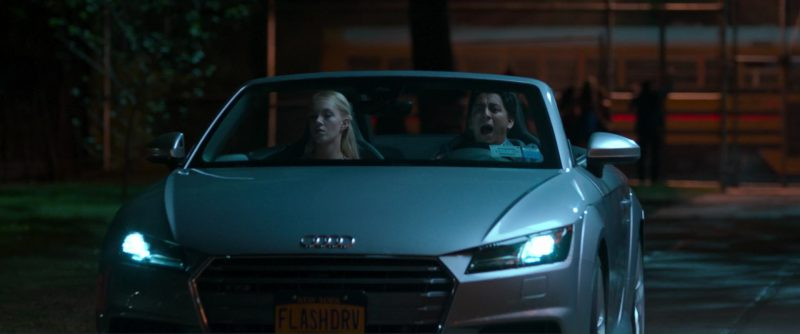 Audi TTS Roadster Driven by Tony Revolori in Spider-Man: Homecoming (2017) - Movie Product Placement