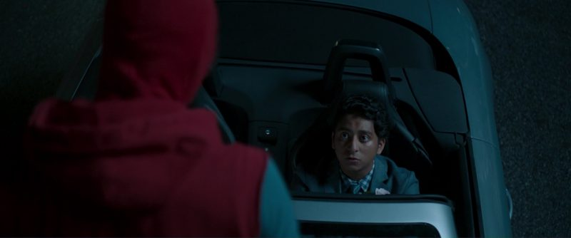 Audi TTS Roadster Driven by Tony Revolori in Spider-Man: Homecoming (2017) Movie Product Placement