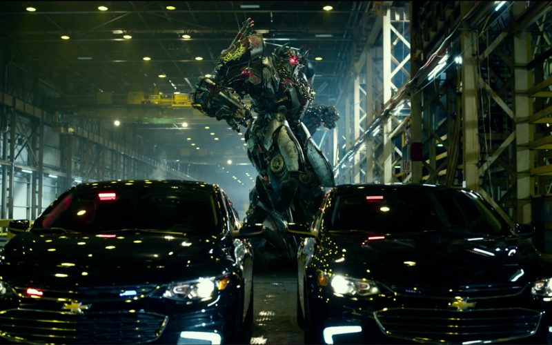 Black Chevrolet Cars in Transformers 5 The Last Knight (2017)