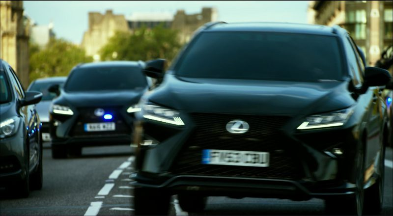Black Lexus RX Cars in Transformers 5: The Last Knight (2017) Movie Product Placement