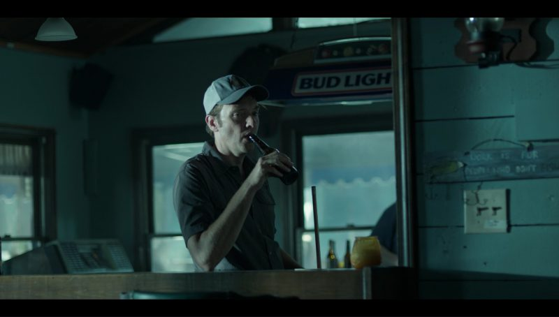"""Bud Light Sign in Ozark """"Tonight We Improvise"""" (2017) - TV Show Product Placement"""